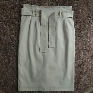 Cynthia Steffe Kaki Pencil Skirt
